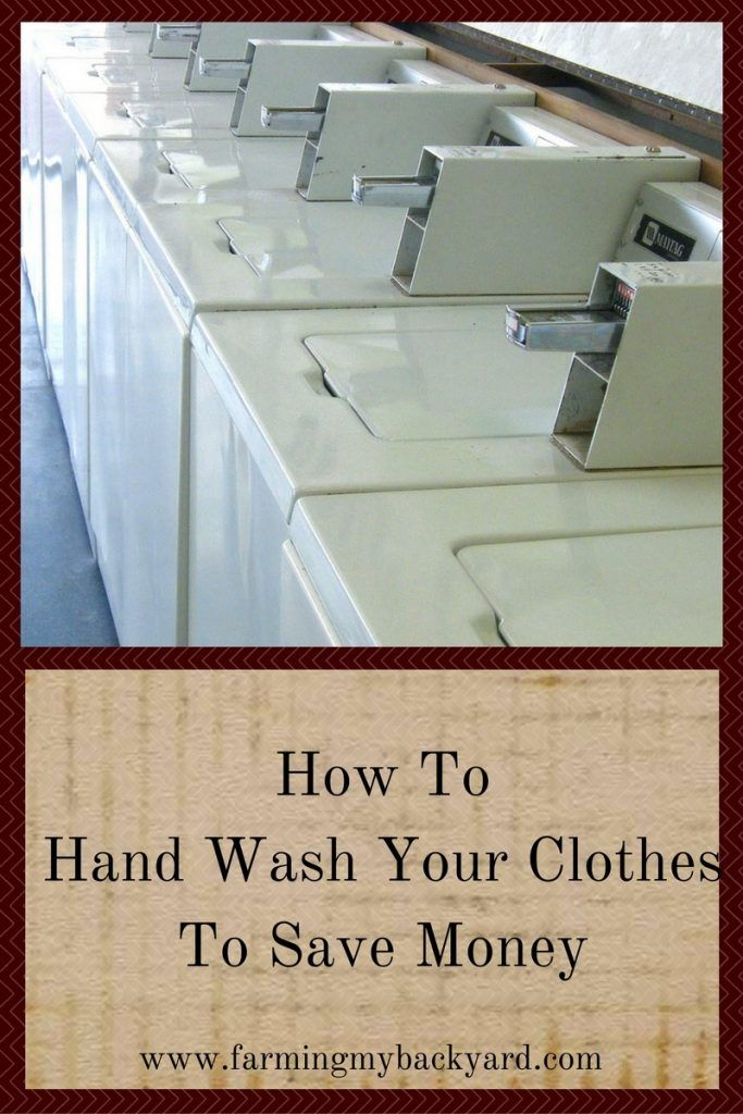 How To Hand Wash Your Clothes To Save Money