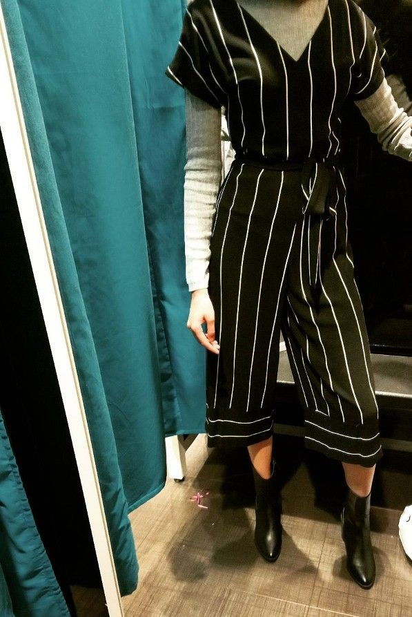f0eead875fe0 Black   white striped Jumpsuit - Primark £13