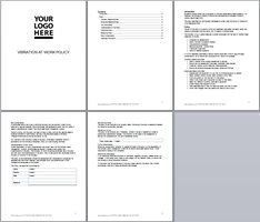 vibration at work policy template