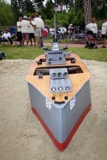 Intricate Cardboard Boat Design