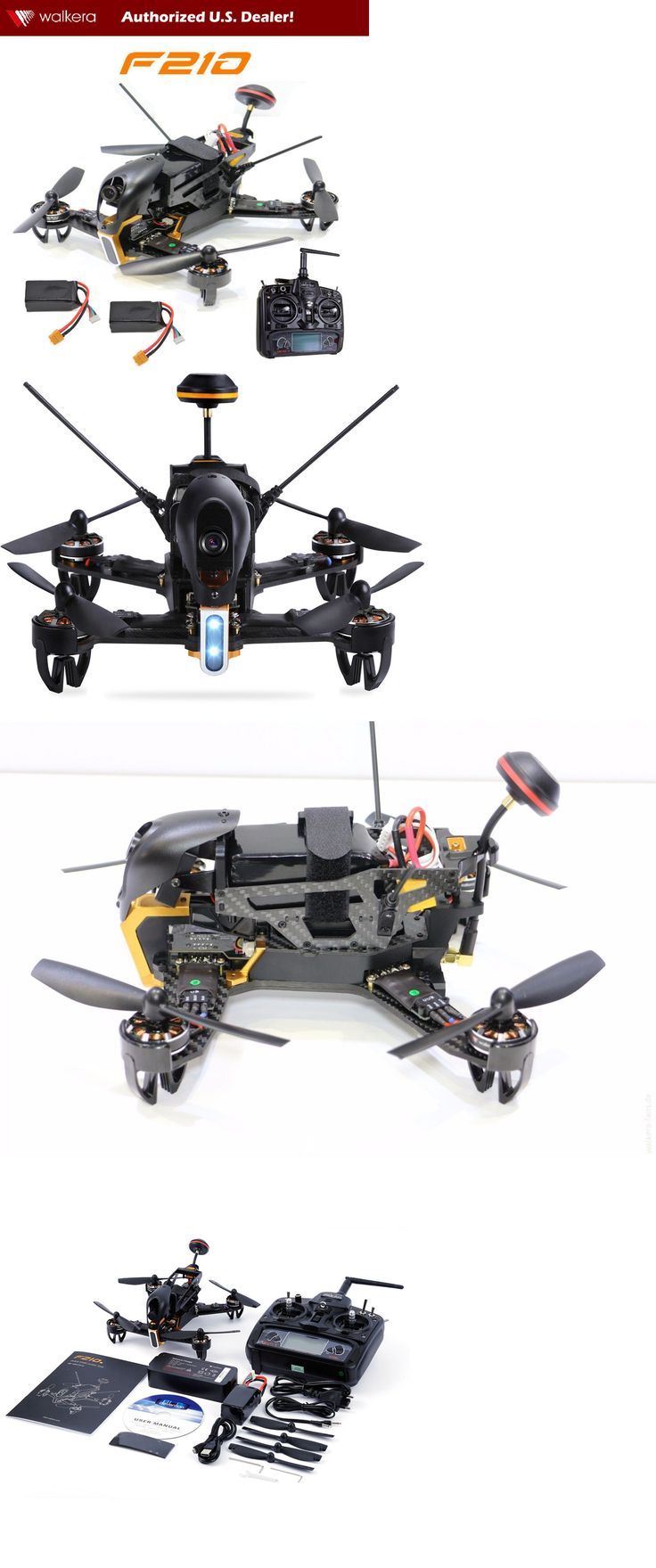 Quadcopters and Multicopters 182185: Walkera F210 Rtf1 Quadcopter Racing Drone W Devo 7, 700Tvl Camera And 2 Batteries -> BUY IT NOW ONLY: $309.99 on eBay!