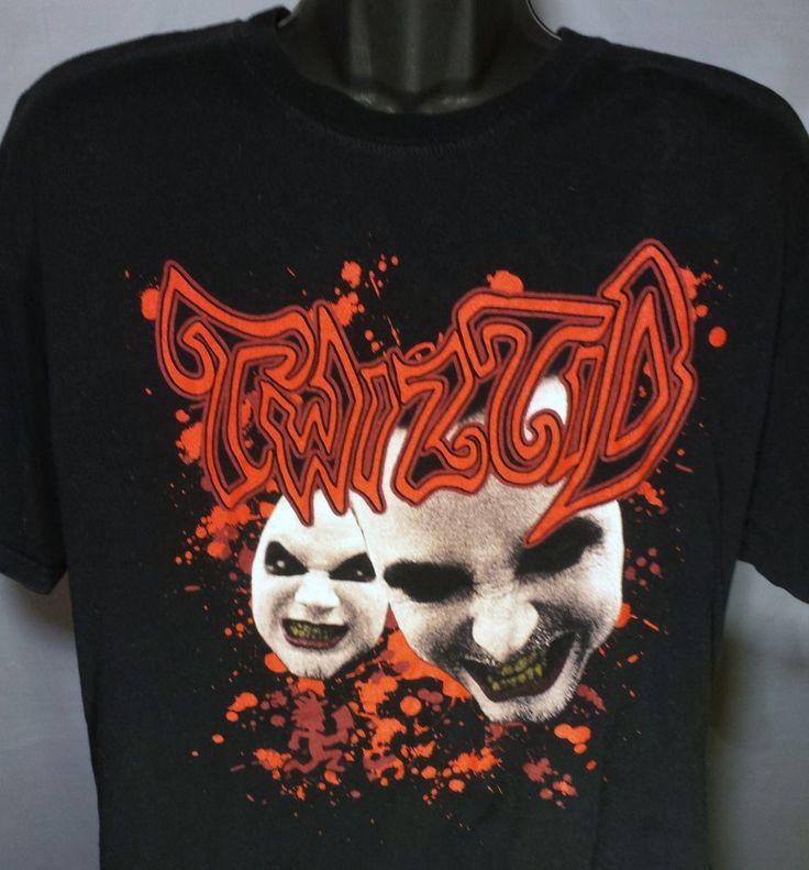 Twiztid ICP Juggalo Mens Size XL Concert Tour Music T Shirt #Anvil #GraphicTee