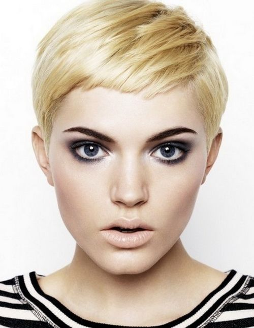 25 best ideas about Very short hairstyles on Pinterest