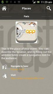 Create your own mobile event app