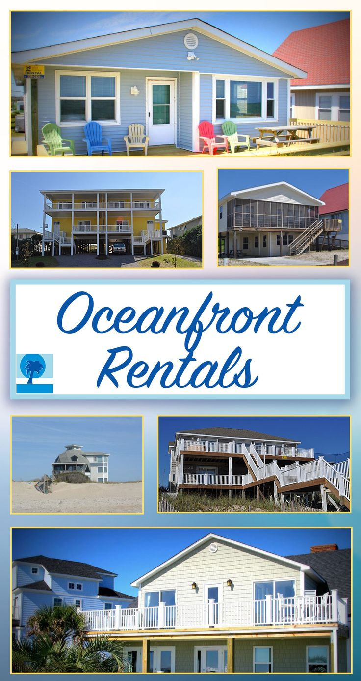 Are you ready for an OCEANFRONT vacation on Topsail Island, NC? We have the perfect beach vacation rental home just waiting for you! Check it out!