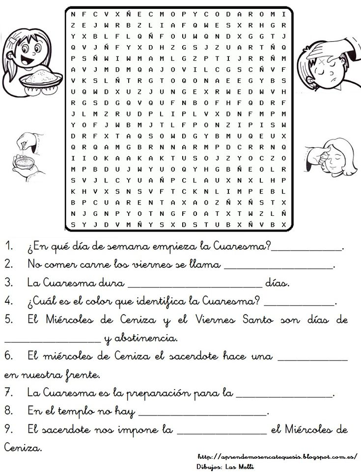 Ficha para colorear sobre el significado de la Cuaresma:               Fuente:http://baredobainhabelesar.blogspot.com.es/                 ...