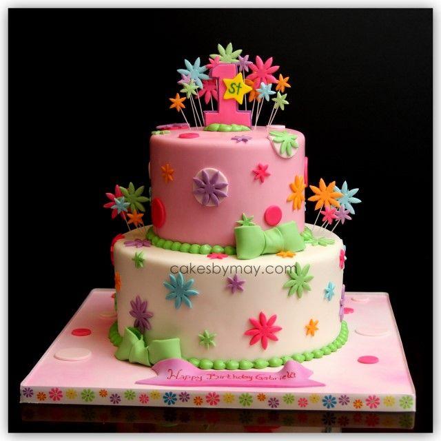 niceCake Recipe, Happy Birthday, First Birthday Cake, Birthday Parties, Cake Design, Cake Ideas, 1St Birthday Cake, Birthday Cakes, Birthday Ideas