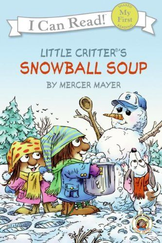 This has to be my favorite of the Little Critter books that I've read so far. Even though right now the grass is green and the sky is blue, the cold days of winter are vivid in my mind. This one will be great next year while working with a snowman and winter theme.