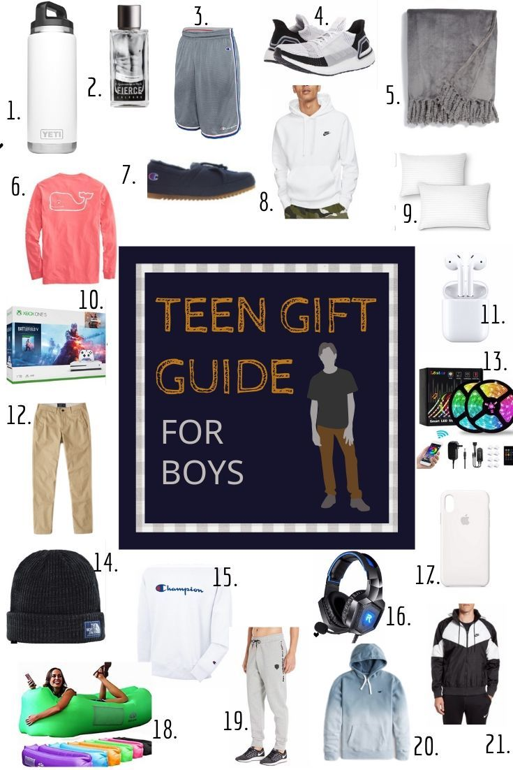 Not sure what to buy for your teenage boy look no further