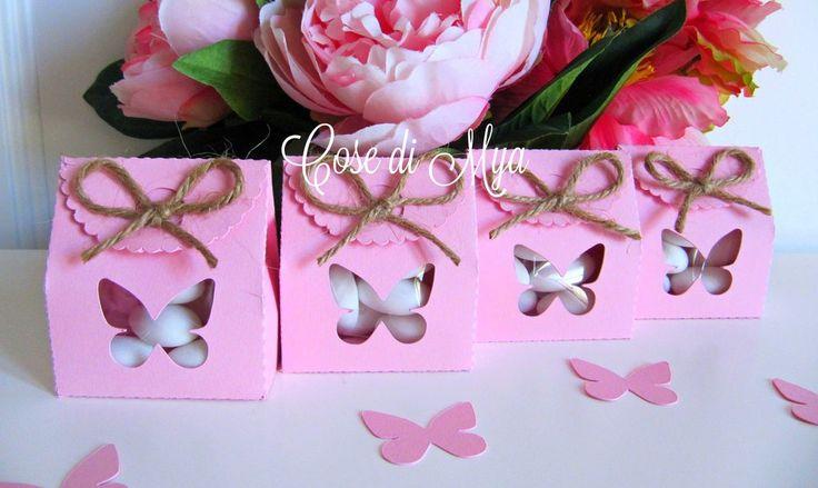 "Scatoline confetti ""FARFALLINA"", by COSE DI MYA, 2,50 € su misshobby.com"