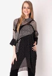 Danar Hadi  Atasan Long Blouse Batik