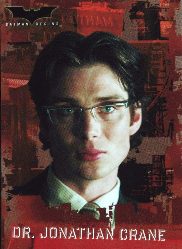cillian murphy--Scarecrow. I don't tend to like guys with dark hair and ice blue eyes, but cillian's pretty.