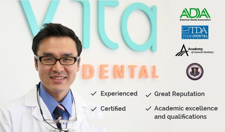The 5 reasons why you should hire Dr Seung Hyung Son, DDS-, Experienced, Certified, qualified and great reputation. Visit Vita Dental's website at www.vitadentalhouston.com and hire Dr Seung Hyung Son, DDS for the best service possible.