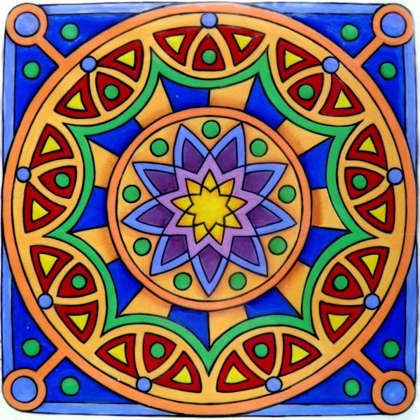 Ms de 25 ideas increbles sobre Mandalas bonitas en Pinterest