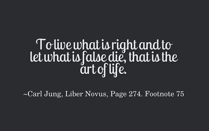 Carl Jung Depth Psychology: Some Carl Jung Quotations XLII [Red Book, Liber Novus]
