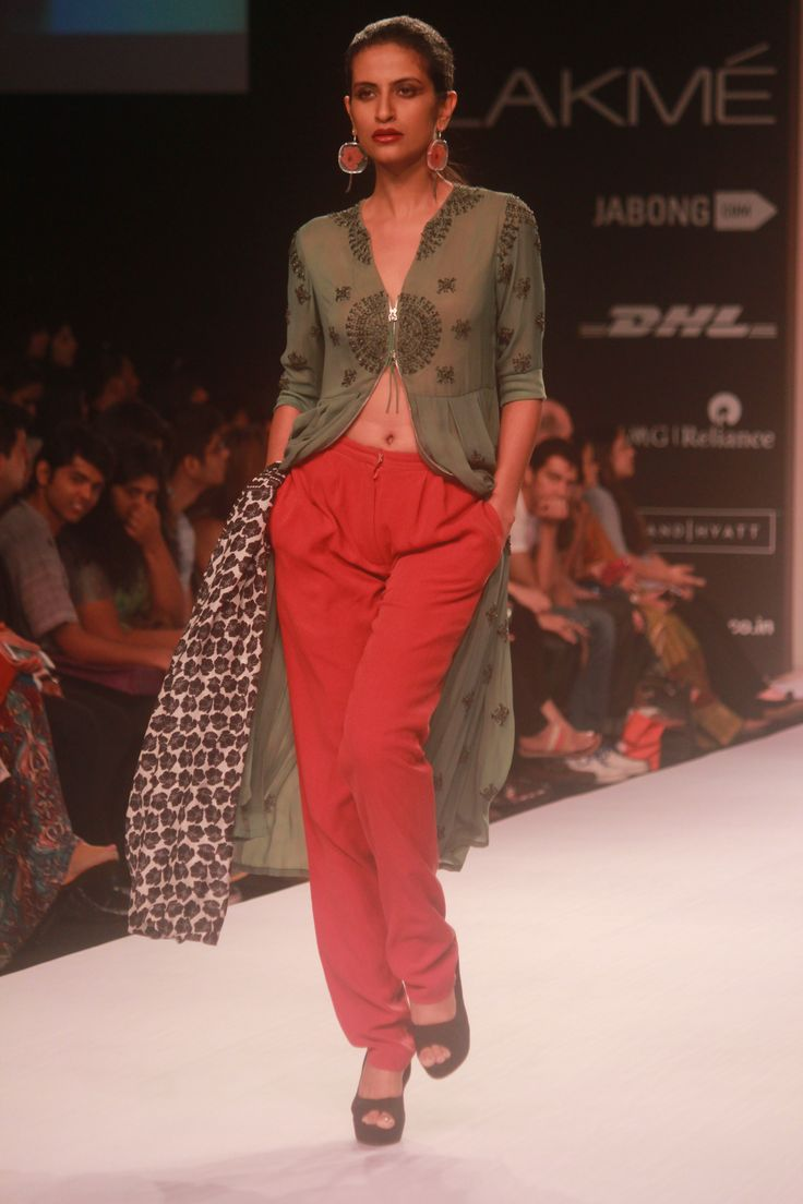 Soup by Sougat Paul #DesignerShowcase at Lakme Fashion Week Summer Resort 2014 Day 1 #TheDayThatWas