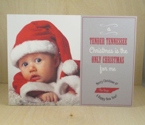 Tender Tennessee Christmas / Baby / First Christmas / Sweet And Southern /  Holiday Or Christmas