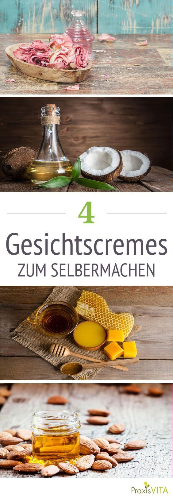 Making Face Creams: Simple Recipes  -  Hautpflege-Rezepte
