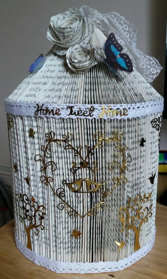Birdcage folded book!