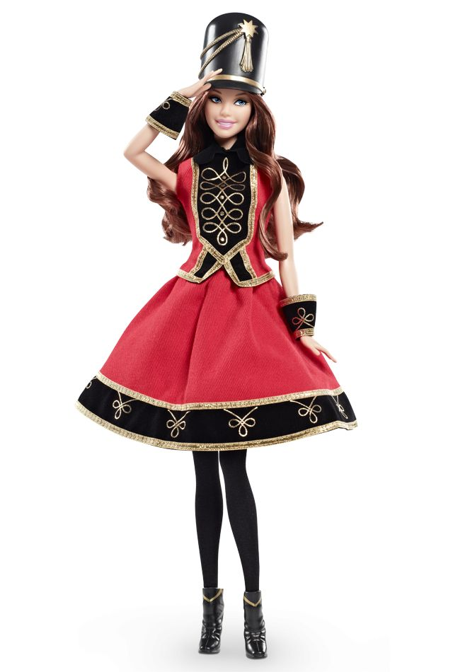 Salute the 2013 holiday season with a warm welcome from an a-doll-able toy soldier. FAO Schwarz Barbie® Doll.