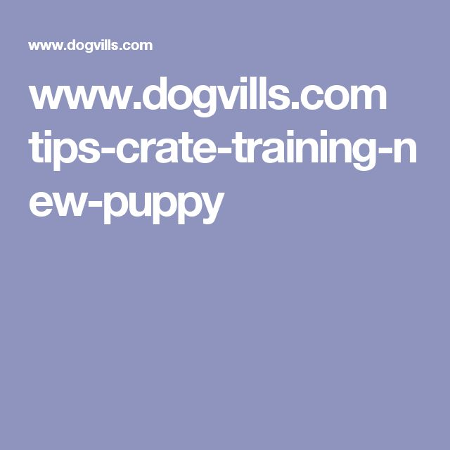 www.dogvills.com tips-crate-training-new-puppy