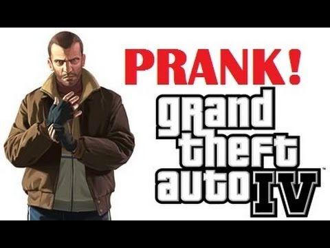 Grand Theft Auto IV Xbox Live Prank (ft. Buk Lau) - OwnagePranks (+playl...