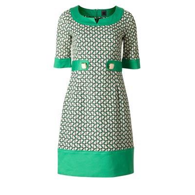 "Orla Kiely - ""Apple A Day"" Shift Dress | $250"