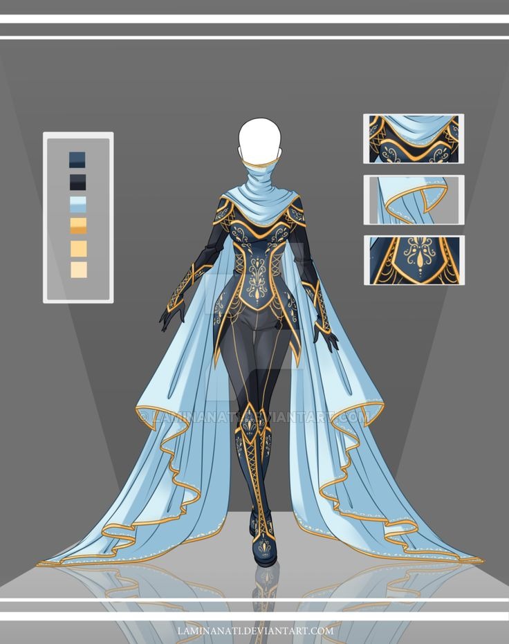 Adoptable Outfit Auction 36(closed) by LaminaNati.deviantart.com on @DeviantArt