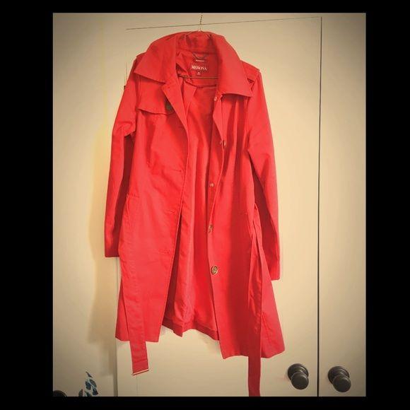 Women's Rain Jacket Women's Rain Coat Size Medium. Like new! Only worn once or twice. Merona Jackets & Coats Trench Coats