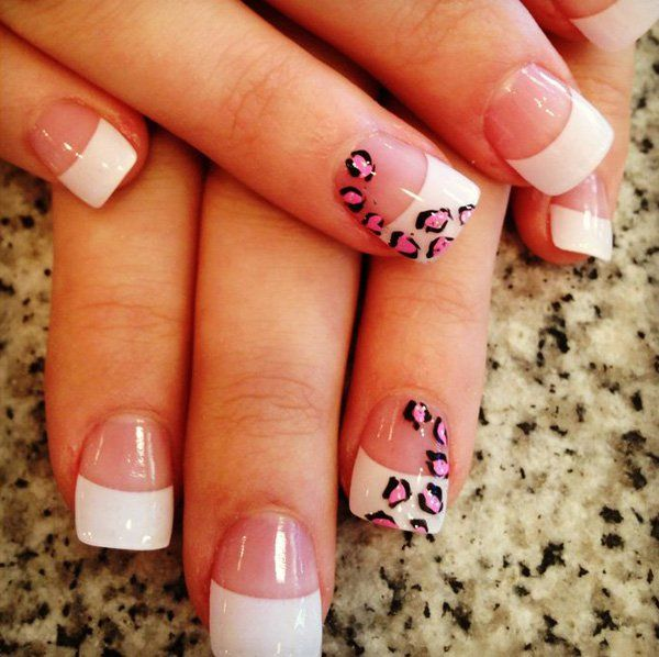 Wild French Tip Nail Designs: Top 25+ Best Acrylic Nail Designs Pictures Ideas On