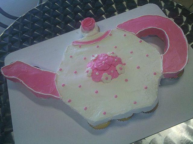 teacup cupcake cakes  