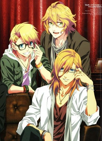 Uta no Prince Sama one of my guilty pleasures. I absolutely adore Natsuki and just love Ren