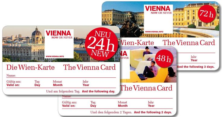 More than 210 discounts at museums and sights, theatres and concerts, in shops, cafés, restaurants, the 'Heurige' wine tavern, and free travel on Vienna's public transport system for 24, 48 or 72 hours - with the benefit card for just €13.90 / €21.90 / €24.90. The ÖAMTC and its 17 partner clubs tested sixteen European city cards for the first time in 2012: with a successful first place for the Vienna Card!