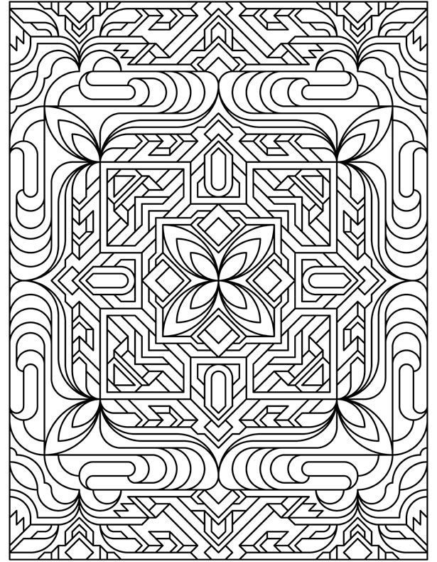 The 2107 best Coloring Designs images on Pinterest | Adult coloring ...