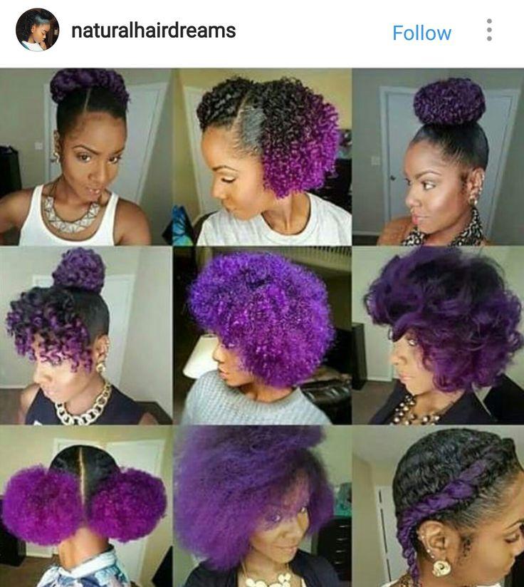 Best 25+ Purple natural hair ideas on Pinterest | Purple ...