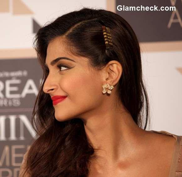 Sonam Kapoor 2015 Hairstyle