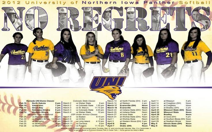 Panther Softball No Regrets