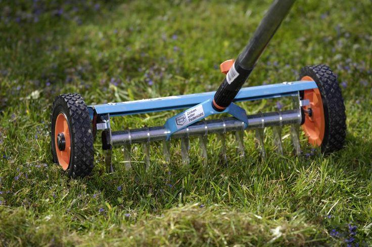 Rasen richtig vertikutieren