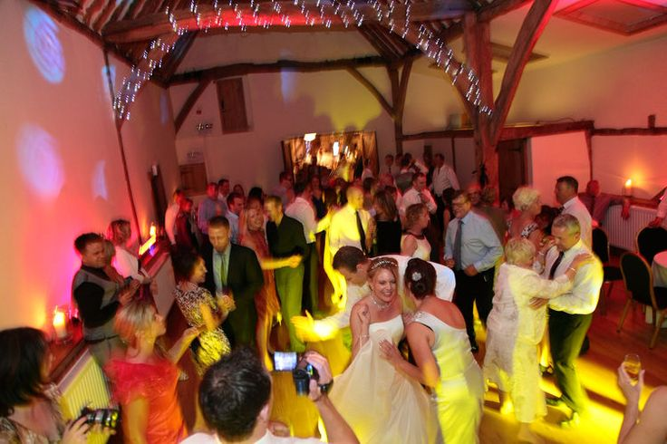 Wedding party, disco and celebrations at Winters Barns