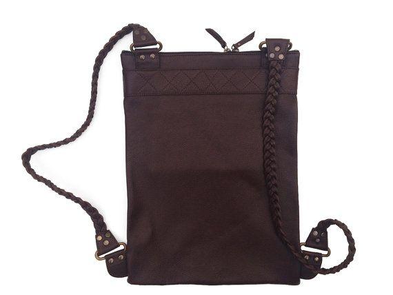 Brown Backpack di MartinaMedail su Etsy
