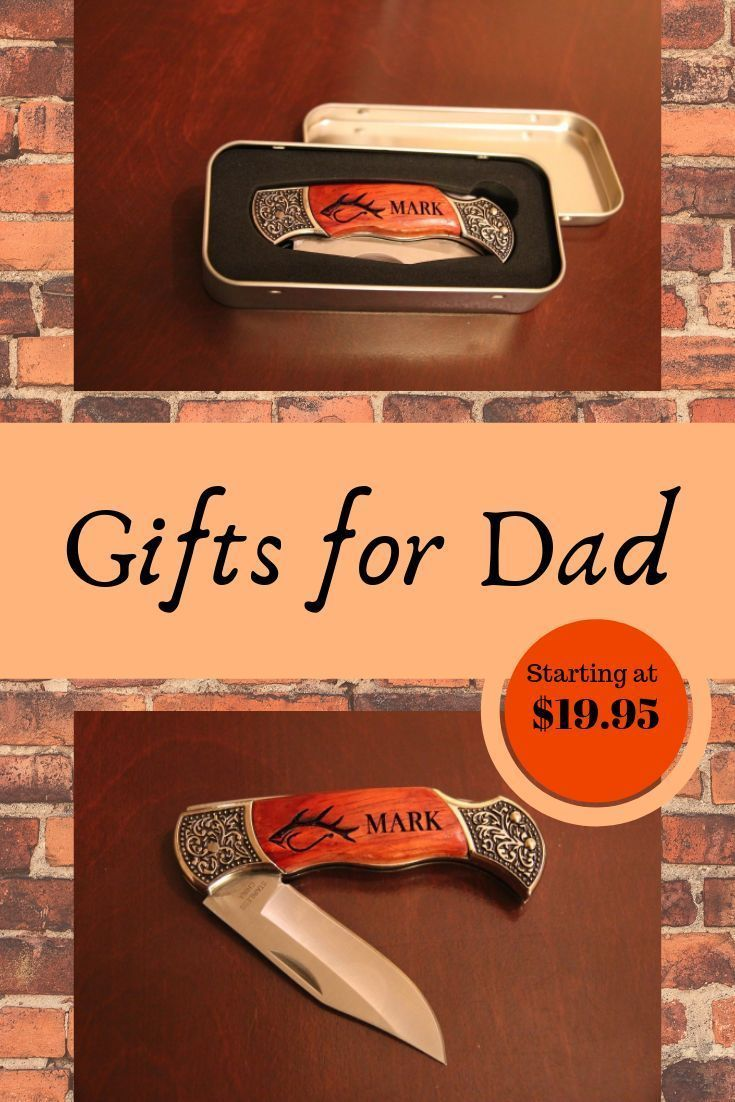 Father's Day Gift, Personalized Pocket Knife for Dad, Gifts for Men