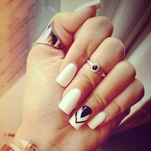 69 best nail colors images on pinterest nail art beautiful and elegant white nail designs on pinterest prinsesfo Gallery