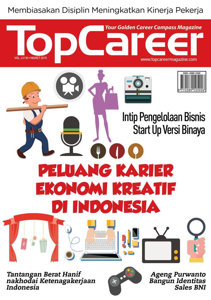 Cover Majalah Edisi 41 - Peluang Karier Ekonomi Kreatif Di Indonesia