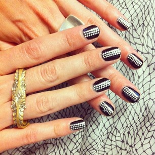 damnNails Art, Beautiful Nails, Nails Makeup, Nails Design, Crazy Nails, Black White, Fancy Nails, Art Nails, Nails Hair Mak