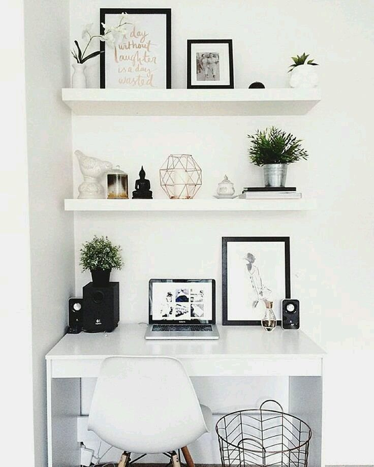 25 best ideas about study room decor on pinterest - Decoration bureau maison ...