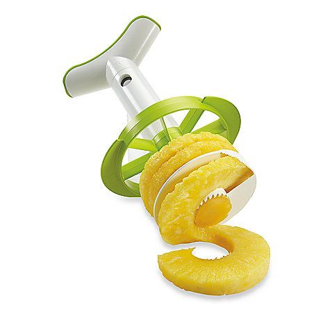 4-in-1 Pineapple Corer, Peeler, Slicer and Wedger:
