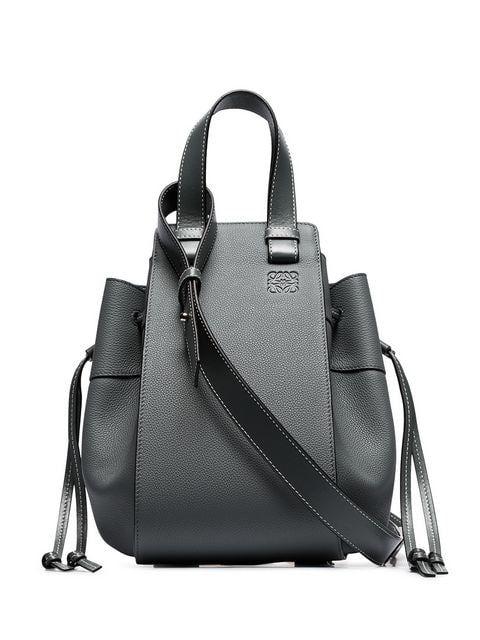 b599776800c1aa Loewe Grey Hammock Medium Leather Shoulder Bag in 2019   Designer ...