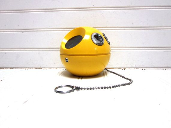 Vintage Radio Yellow Panasonic Panapet R 70 by GoodBonesVintageCo, $58.00