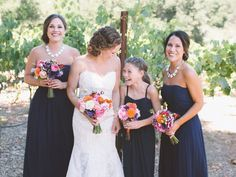 Junior Bridesmaids: Etiquette Q&A | Photo by: Anna Delores Photography | TheKnot.com