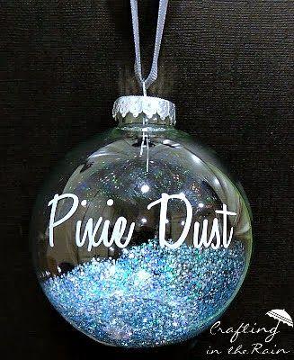 Pixie Dust Disneyland Ornament | Crafting in the Rain